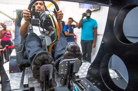 Samy ARCHIMEDE parle de la sous-commission sécurité automobile de la CMCAS Guadeloupe