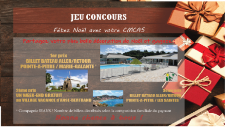 JEU-CONCOURS DÉCORATION NOEL